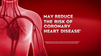 Mega Red Omega-3 Krill Oil TV Spot, 'Reduces Risk of Heart Disease' - Thumbnail 5