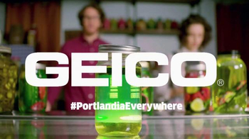 GEICO TV Spot, 'Portlandia: Pickled' - Thumbnail 9