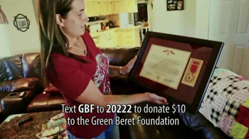 Green Beret Foundation TV Spot, 'Taking Care of Their Own' - Thumbnail 9