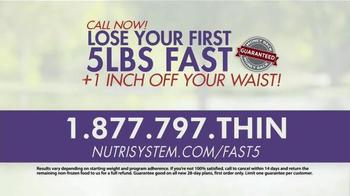 Nutrisystem Fast 5+  TV Spot, 'Lose an Inch' Ft. Marie Osmond, Dan Marino - Thumbnail 10