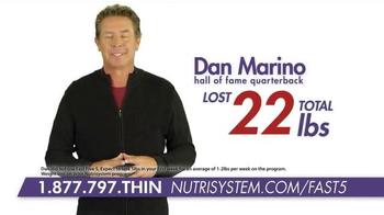 Nutrisystem Fast 5+  TV Spot, 'Lose an Inch' Ft. Marie Osmond, Dan Marino - Thumbnail 8