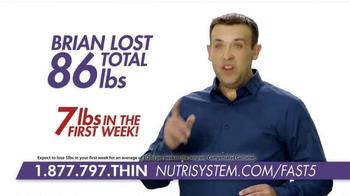 Nutrisystem Fast 5+  TV Spot, 'Lose an Inch' Ft. Marie Osmond, Dan Marino - Thumbnail 9