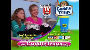 Cuddle Trays TV Spot, 'Not Just a Fluffy Pillow' - Thumbnail 10