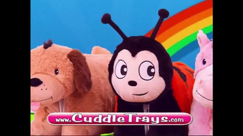 Cuddle Trays TV Spot, 'Not Just a Fluffy Pillow' - Thumbnail 8