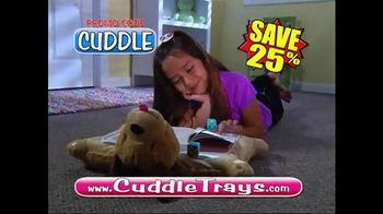 Cuddle Trays TV Spot, 'Not Just a Fluffy Pillow' - Thumbnail 9