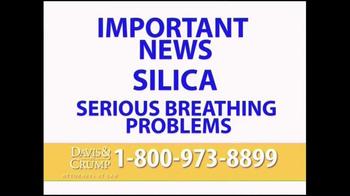 Davis & Crump, P.C. TV Spot, 'Silica' - Thumbnail 2