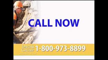 Davis & Crump, P.C. TV Spot, 'Silica' - Thumbnail 7