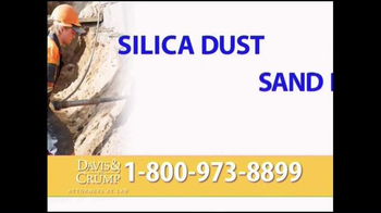 Davis & Crump, P.C. TV Spot, 'Silica' - Thumbnail 8