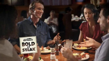 Outback Steakhouse No Worries Wednesday TV Spot, 'Three Course Meal' - Thumbnail 1