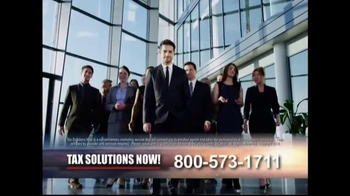 Tax Solutions Now TV Spot