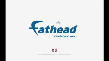 Fathead TV Spot, 'Fathead Awareness: Pizza Version' Featuring Clay Matthews - Thumbnail 6