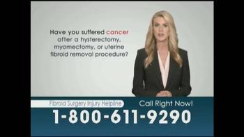 Williams Kherkher TV Spot, 'Fibroid Surgery Injury Helpline' - Thumbnail 1