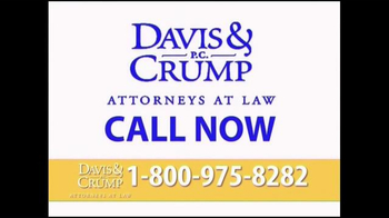 Davis & Crump, P.C. TV Spot, 'Silica Breathing Problems' - Thumbnail 4