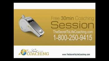The Secret to Life Coaching Free 30 Minute Coaching Session TV Spot - Thumbnail 8