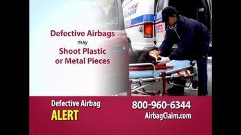 Burg Simpson TV Spot, 'Defective Airbag Alert'