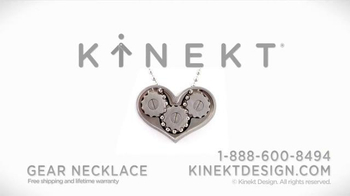 Kinekt Designs The Gear Necklace TV Spot, 'Heart' - Thumbnail 9