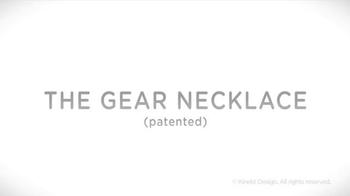 Kinekt Designs The Gear Necklace TV Spot, 'Heart' - Thumbnail 4