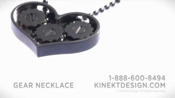 Kinekt Designs The Gear Necklace TV Spot, 'Heart' - Thumbnail 6