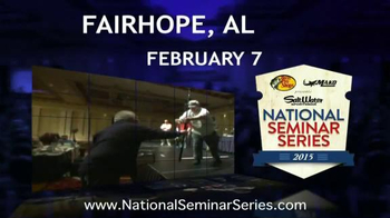 Bass Pro Shops National Seminar Series TV Spot, 'Learn From Top Anglers' - Thumbnail 5