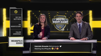 Buffalo Wild Wings TV Spot, 'Posts Post Game Report: Divisional Playoffs' - Thumbnail 9