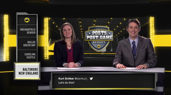 Buffalo Wild Wings TV Spot, 'Posts Post Game Report: Divisional Playoffs' - Thumbnail 1