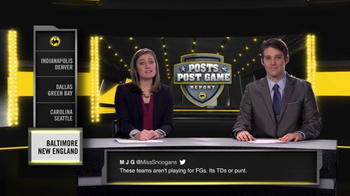 Buffalo Wild Wings TV Spot, 'Posts Post Game Report: Divisional Playoffs' - Thumbnail 2