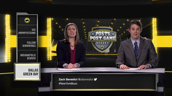 Buffalo Wild Wings TV Spot, 'Posts Post Game Report: Divisional Playoffs' - Thumbnail 6