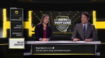 Buffalo Wild Wings TV Spot, 'Posts Post Game Report: Divisional Playoffs' - Thumbnail 7