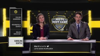 Buffalo Wild Wings: Posts Post Game Report: Divisional Playoffs