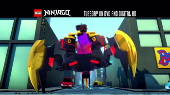 LEGO Ninjago: Masters of Spinjitzu: Fall of the Golden Master DVD TV Spot - Thumbnail 1