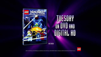LEGO Ninjago: Masters of Spinjitzu: Fall of the Golden Master DVD TV Spot - Thumbnail 9