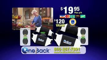 One Back TV Spot - Thumbnail 10