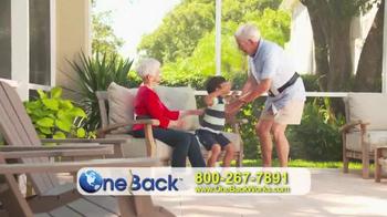 One Back TV Spot - Thumbnail 2