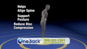 One Back TV Spot - Thumbnail 4