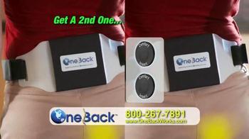 One Back TV Spot - Thumbnail 9