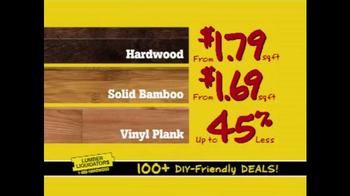 Lumber Liquidators TV Spot, 'Done for Less' - Thumbnail 4