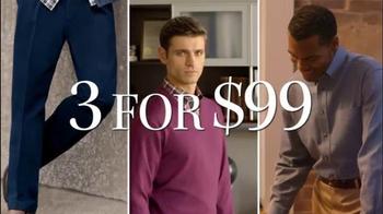 JoS. A. Bank TV Spot, 'Three for 99' - Thumbnail 2