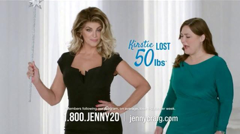 Jenny Craig TV Spot, 'Fairy Godmother' Featuring Kirstie Alley - Thumbnail 3
