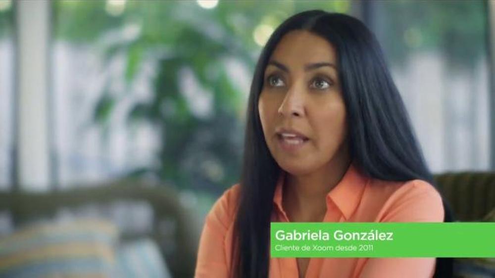 Xoom TV Commercial, 'Gabriela Recomienda Xoom'