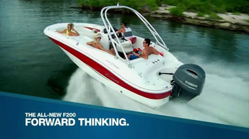 Yamaha F200 TV Spot, 'Forward Thinking'