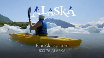 Alaska TV Spot, 'Glacial Kayaking' - Thumbnail 6