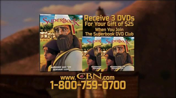 Superbook: Naaman and the Servant Girl TV Spot, 'Be Cured' - Thumbnail 5