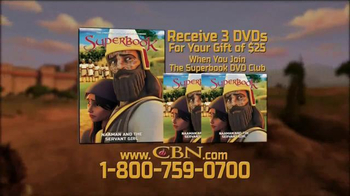 Superbook: Naaman and the Servant Girl TV Spot, 'Be Cured' - Thumbnail 6