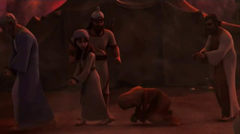 Superbook: Naaman and the Servant Girl TV Spot, 'Be Cured' - Thumbnail 7