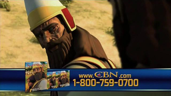 Superbook: Naaman and the Servant Girl TV Spot, 'Be Cured'