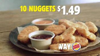Burger King Chicken Nuggets TV Spot, 'No-Brainer' - Thumbnail 7