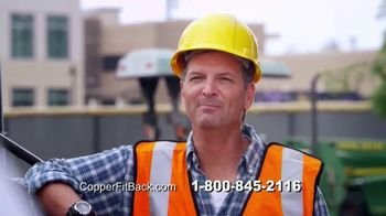 Copper Fit Back Pro TV Spot, 'Relief' Featuring Brett Favre - Thumbnail 3