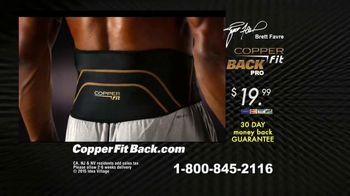 Copper Fit Back Pro TV Spot, 'Relief' Featuring Brett Favre - Thumbnail 7