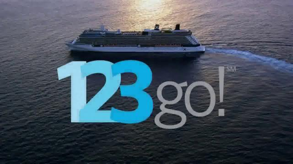 Image result for 123Go! celebrity cruise advert