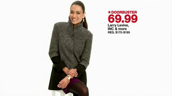 Macy's One Day Sale TV Spot, 'Coats, Dress Shirts, Earrings, and Blenders' - Thumbnail 4